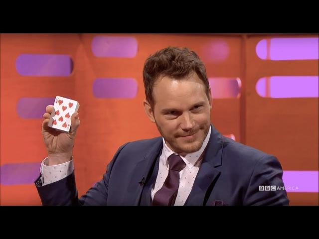 Chris Pratt Knows The Best Card Trick Ever - The Graham Norton Show