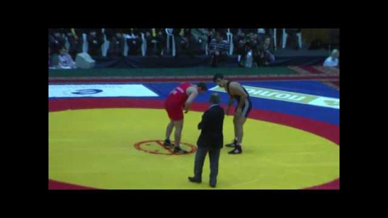 84 кг. Алдатов (Укр) - Уришев, Ярыгин-2010, полуфинал.