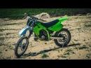 KAWASAKI KX 125 | Дешёвый, но мощный кроссовый мотоцикл