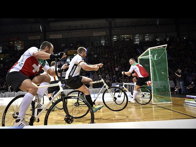 2016 UCI Indoor Cycling World Championships / Cycle-ball - Day 3