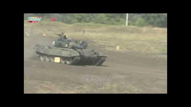 Командование ВС ДНР оценило первый этап танкового биатлона