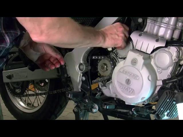 BMW F650GS - wymiana oleju w silniku