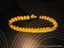 Как плести браслет Шип Синнету - Цепь из паракорда How to weave bracelet paracord Oat Spike Sinnet
