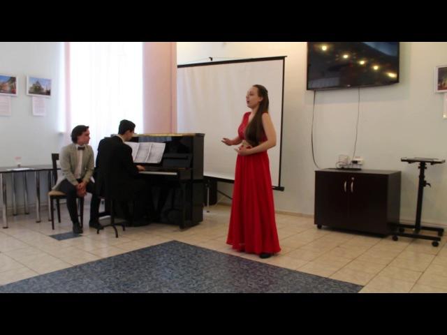 Виктория Новик - Серенада из оперы Рюи Блаз (Ж.-Б.Векерлен)