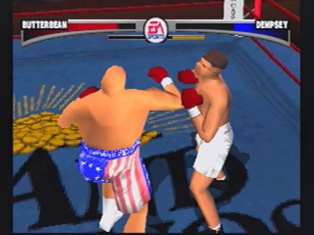BUTTERBEAN vs. JACK DEMPSEY Knockout Kings (PS1) чемпион Maxim Stoyalov