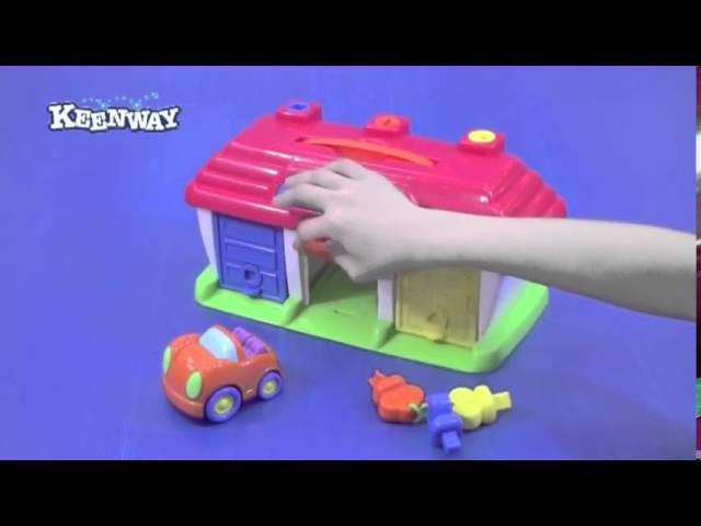 KEENWAY 12332 Мини гараж от магазина ДЕТКИ