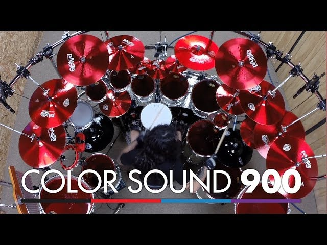 Aquiles Priester's new Color Sound 900 Cymbal Set (English)