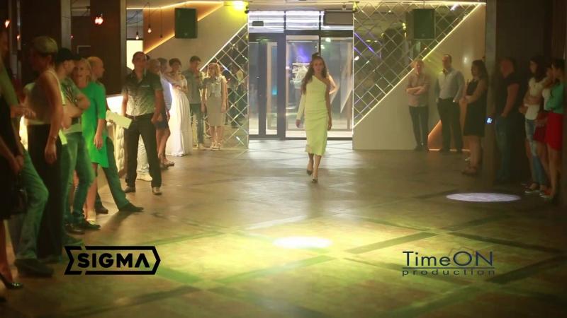 Sigma модный показ в рестоклубеЦельсий