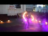 Огненное и световое шоу KRYPTOS на Дне молодежи в Шуе