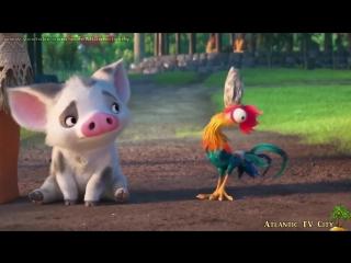 Моана Супер мультик Дисней Отрывки и Трейлеры в HD Moana Disney