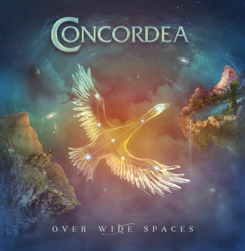 Дебютный альбом CONCORDEA - Over Wide Spaces (2017)