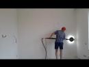 Механизированая шлифовка стен