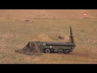 «Искандер-М» впервые осуществил пуск ракеты за рубежом_ эффектные кадры