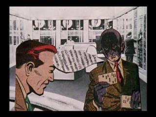 Стеклянная пони / Pony Glass (1998) Льюис Клэр / Lewis Klahr (Тревожная анимация / Anxious Animation)
