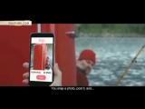 В Норвегии показали как российские подводники покупают холодильник у рыбаков