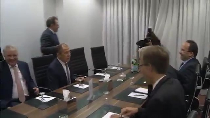 С.Лавров и Генеральный секретарь Совета Европы Т.Ягланд