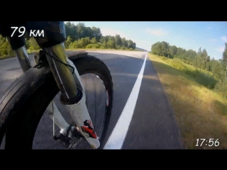 Велопробег: Новобелокатай - Верхние Киги - Новобелокатай(28.06.2017)