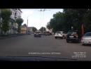 Впритык не пропустил пешехода Туарег Х578ОТ750 г.Пенза - группа АВТОХАМ ПЕНЗА