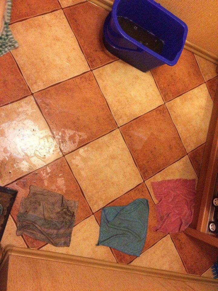 Соцсети: После дождя квартиры жителей Салтовки затопило