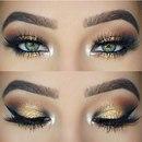 Как правильно наносить вечерний макияж на глаза