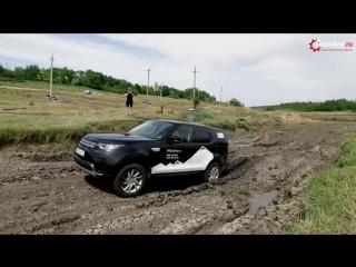 LAND ROVER DISCOVERY 5 2017, тест драйв по бездорожью на Дон-25