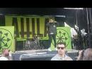 Attila Bulletproof live Seattle warped tour 2017