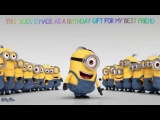 MINIONS - HAPPY BIRTHDAY - N'SYNC