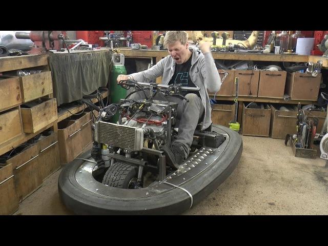 Squeezing 600cc 100BHP Engine in a Bumper car 2 Colin Furze Top Gear Project
