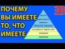 Почему вы имеете то что имеете Пирамида Дилтса