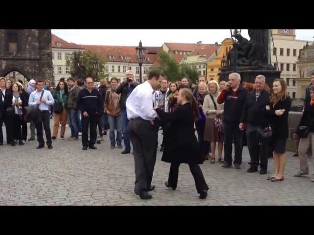 Jazz No Problem Praha Random couple dancing Prague Czech Republic