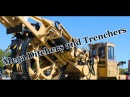 Large ditches and moats Mega Ditchers and Trenchers