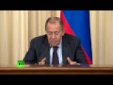 Пресс-конференция глав МИД России и Бангладеш