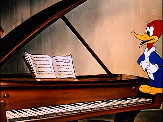 Frederic Chopin Musical Moments Woody Woodpecker 1947