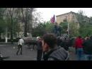 10 мая 2014. Мариуполь. Выстрел из БМП 10.05.2014/Mariupol shot of BMP 10.05.2014