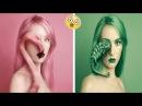 Девушка создает автопортреты с животными вместо глаза