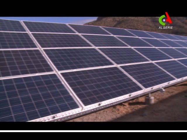Algérie - Prochaine réception d'une Centrale électrique Solaire à Merouana (Batna)