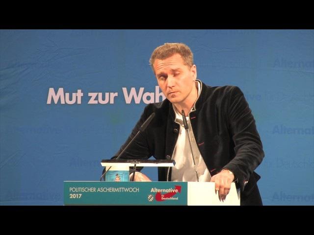 Petr Bystron liest den Politikern die Leviten. Aschermittwoch in Osterhofen