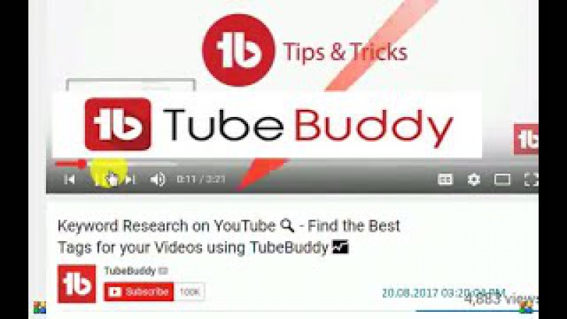 Why you should use tubebuddy for youtube.