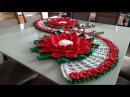 FLOR MARGARIDA Pode ser usada em trilhos de mesa ou sozinha