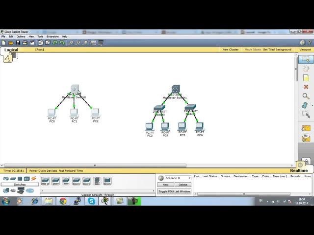 Урок 7. Коммутатор третьего уровня, маршрутизация трафика между VLAN-ами