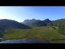 Blea Tarn The lake district Dji Inspire Dji goggles