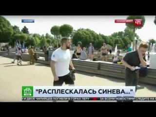 ВДВ гуляет. Удар корреспонденту НТВ.