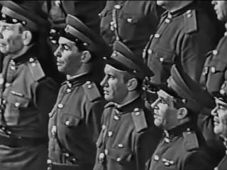 Нич яка мисячна - Евгений Беляев и Хор ансамбля им. Александрова (1962)