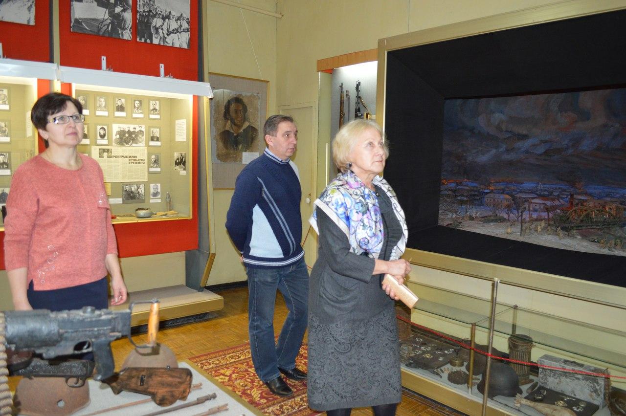 Михайловский исторический музей посетили почётные гости.