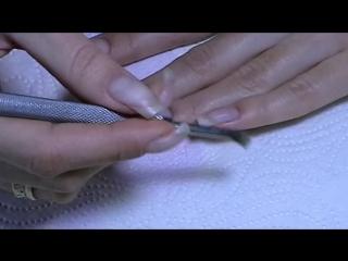 Как подготовить ногти к нанесению гель лака.