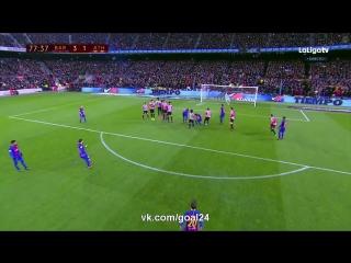 Барселона 3:1 Атлетик   Гол Месси