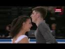 2016 Trophée Eric Bompard Ice Dance FD Lorenza ALESSANDRINI Pierre SOUQUET