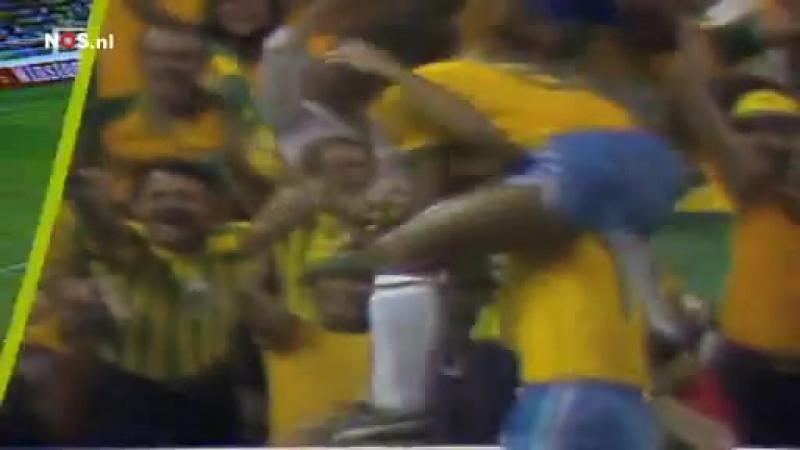 Гол Эдера (Бразилия) в ворота сборной СССР на чемпионате мира 1982 года
