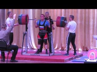 Баранов Георгий,приседания 247.5 кг соб.вес 78 кг