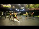 Школа бокса Good Old Boxing - Отработка защиты-медбол(05.04.17)
